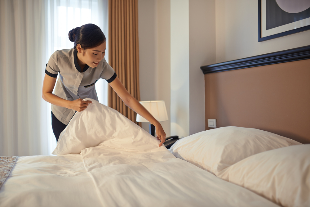 They're aiming to improve hotel operations around guest requests.