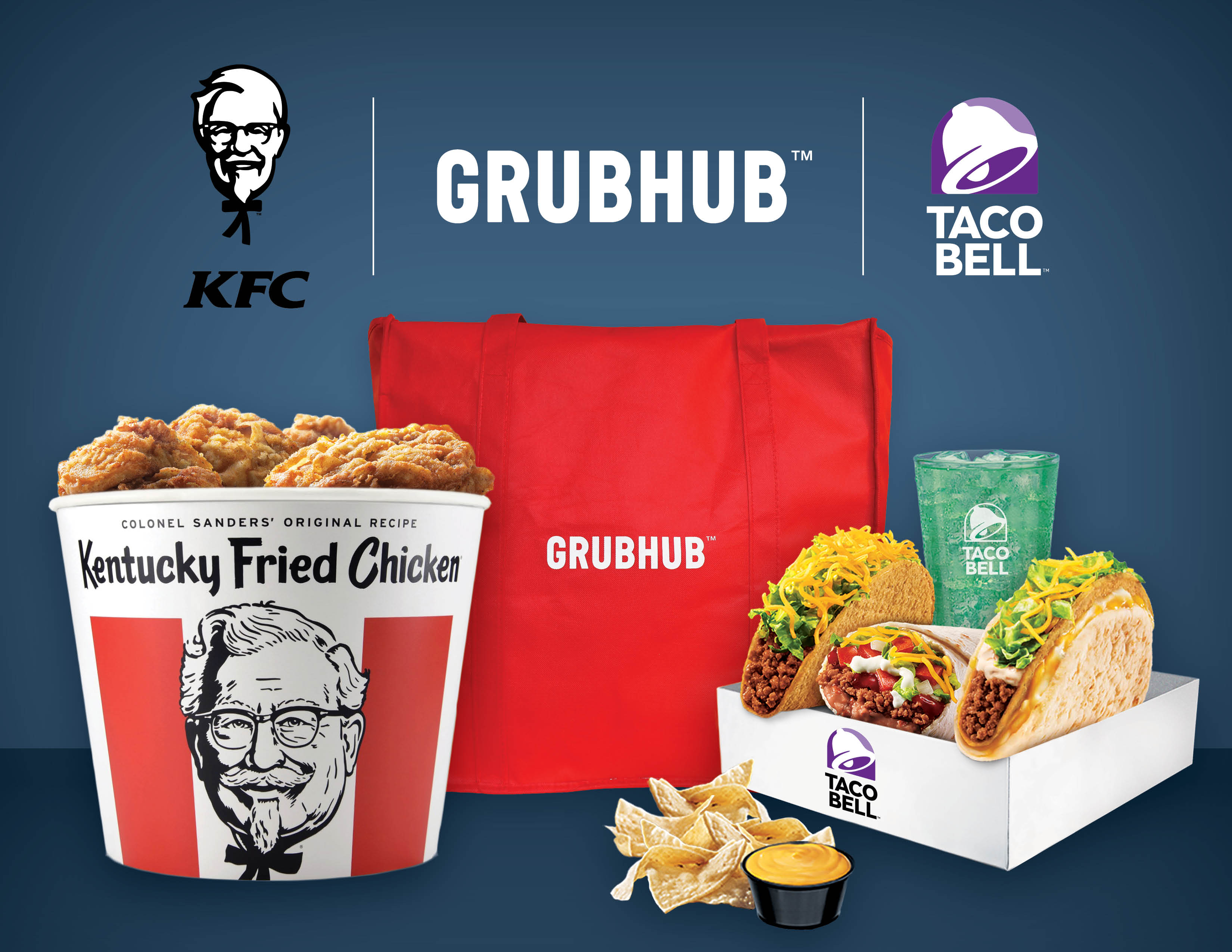 Yum brands partners exclusively with grubhub for online ordering brands partners exclusively with grubhub for online ordering and delivery forumfinder Choice Image