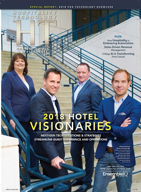 Hospitality Technology Hotel Visionary Award Winners