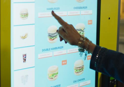 CaliBurger is embracing the future with AI-enabled self-ordering kiosks powered by NEC's NeoFace® facial recognition software.