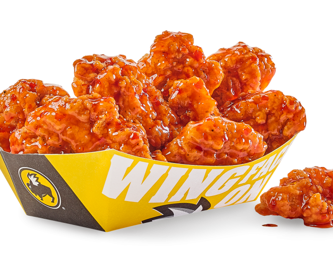 Buffalo Wild Wings is rolling out Buzztime Android tablets to offer digital menus and accept tableside payments.