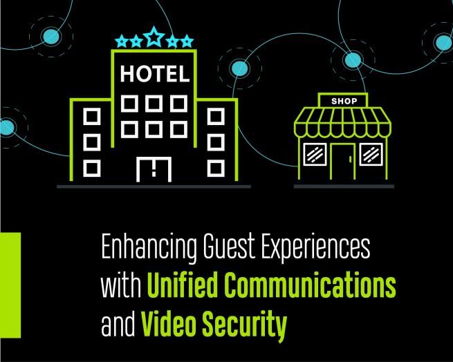 Enhancing Guest Experiences with Unified Communications and Video Security