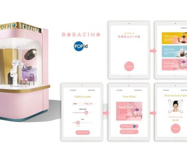 Bobacino automated kiosk