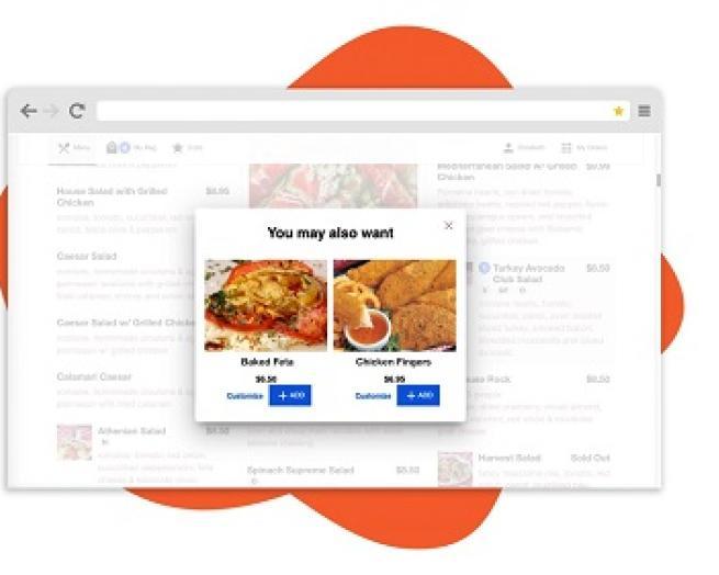 online menu on Zuppler