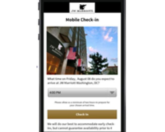 Marriott Expands Mobile Check-in and Checkout Services to 4,000