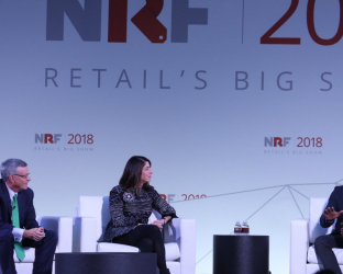 From blockchain and hotel-friendly robots to interactive light technology and more, discover some of the highlights from the National Retail Federation's Big Show.